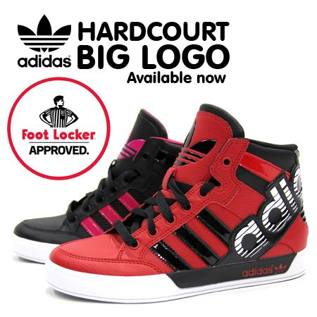 61d0d9c2465d5 adidas hardcourt BIG logo Available now at Foot Locker  footlockercanada   adidas  kidsfootlocker  mens  approved