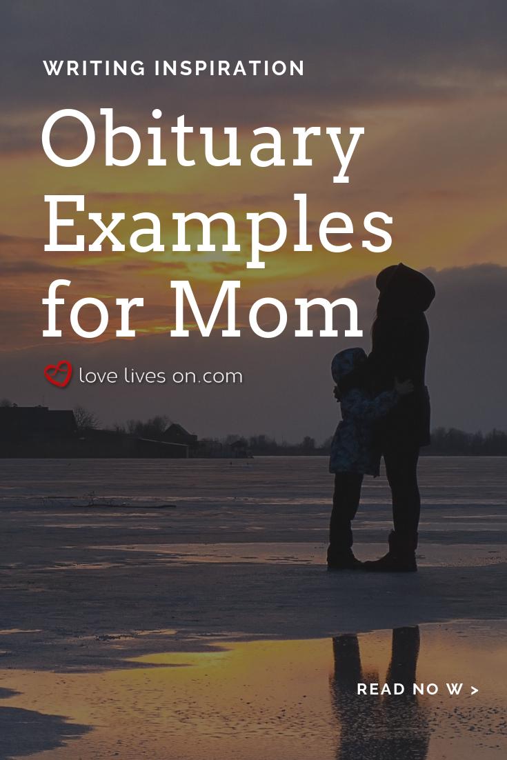 55+ Best Obituary Examples | mom | Newspaper obituaries