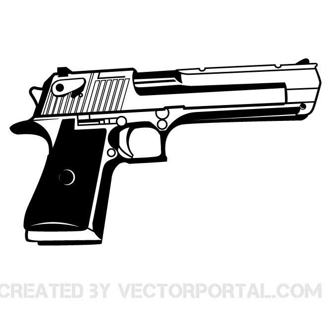 handgun vector graphics download at vectorportal hand guns guns drawing guns illustration handgun vector graphics download at