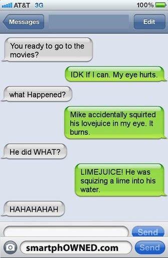 raunchy texts