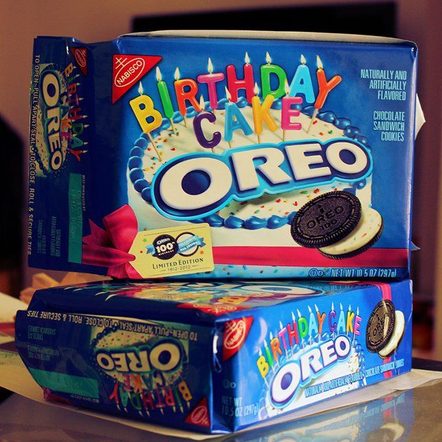 Birthday Cake Oreo Cookies