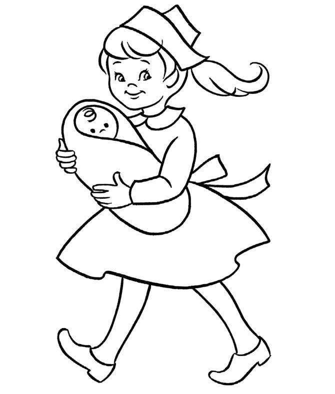 Nurses Holding A Baby Coloring For Kids Charlotteu0027s class Pinterest - fresh coloring pages about nurses