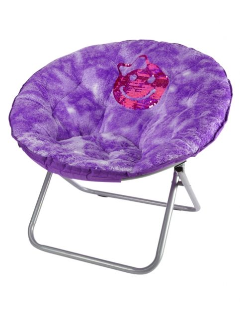 Faux Fur Purple Saucer Chair Girls Room Accessories Beauty Room Toys Shop Justice Saucer Chairs Girls Room Accessories Chair