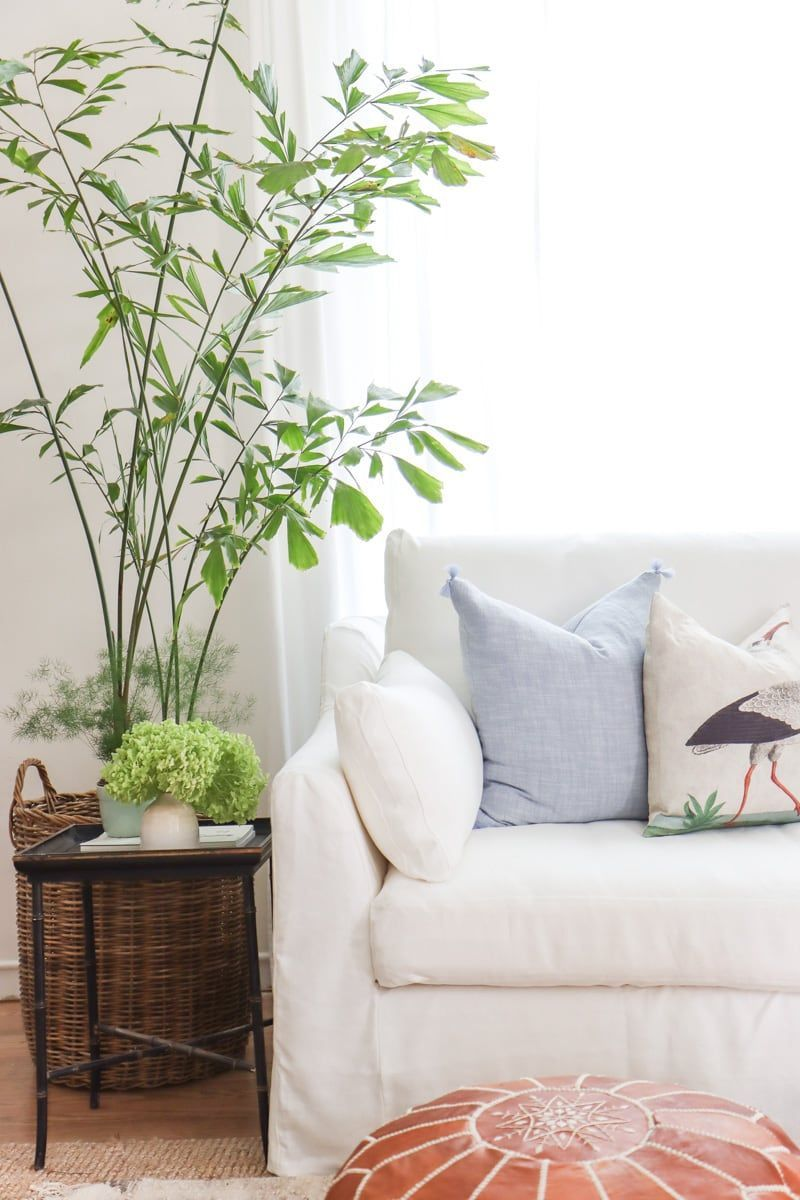 Living room, dining room, home. 5 Ways To Make Your IKEA Sofa Looks More Expensive, Plus ...