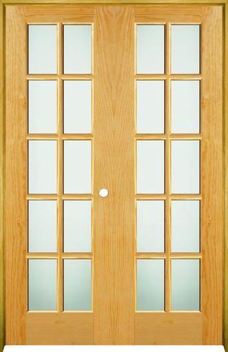 Mastercraft Pine 15 Woodlite Prehung Interior Double Door At Menards Mastercraft 48 X 80 Pine 10 Woodli Double Doors Interior Home Ownership Double Doors