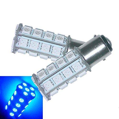 PA 2pc 1157 Bay15d 30 5050SMD LED Auto Tail Brake Stop Drive 2 functions Bulb BLUE PA http://www.amazon.com/dp/B011TWMKKA/ref=cm_sw_r_pi_dp_Pz9cwb1E9SYYQ  #bluebulb #1157LED