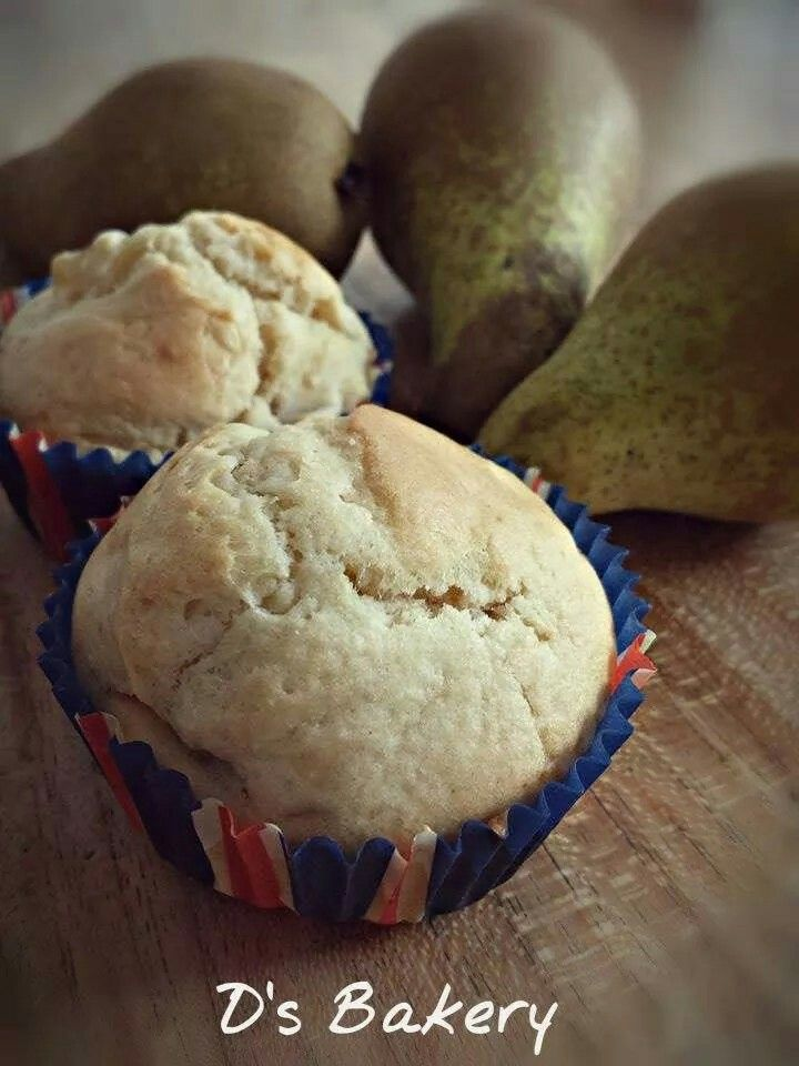 Pear muffin! #food#love#baking#muffin#pear#d'sbakery#delicious