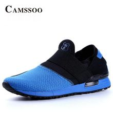 CAMSSOO Brand Spring Running Shoes Man Women Outdoor Breathable Mesh Trekking Jogging Athletic Shoes Light Weight Gym…