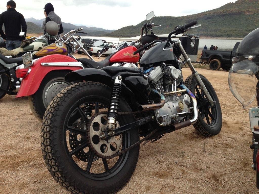 19 Rear Wheel Sporty Sportster Moto Bike Wheel