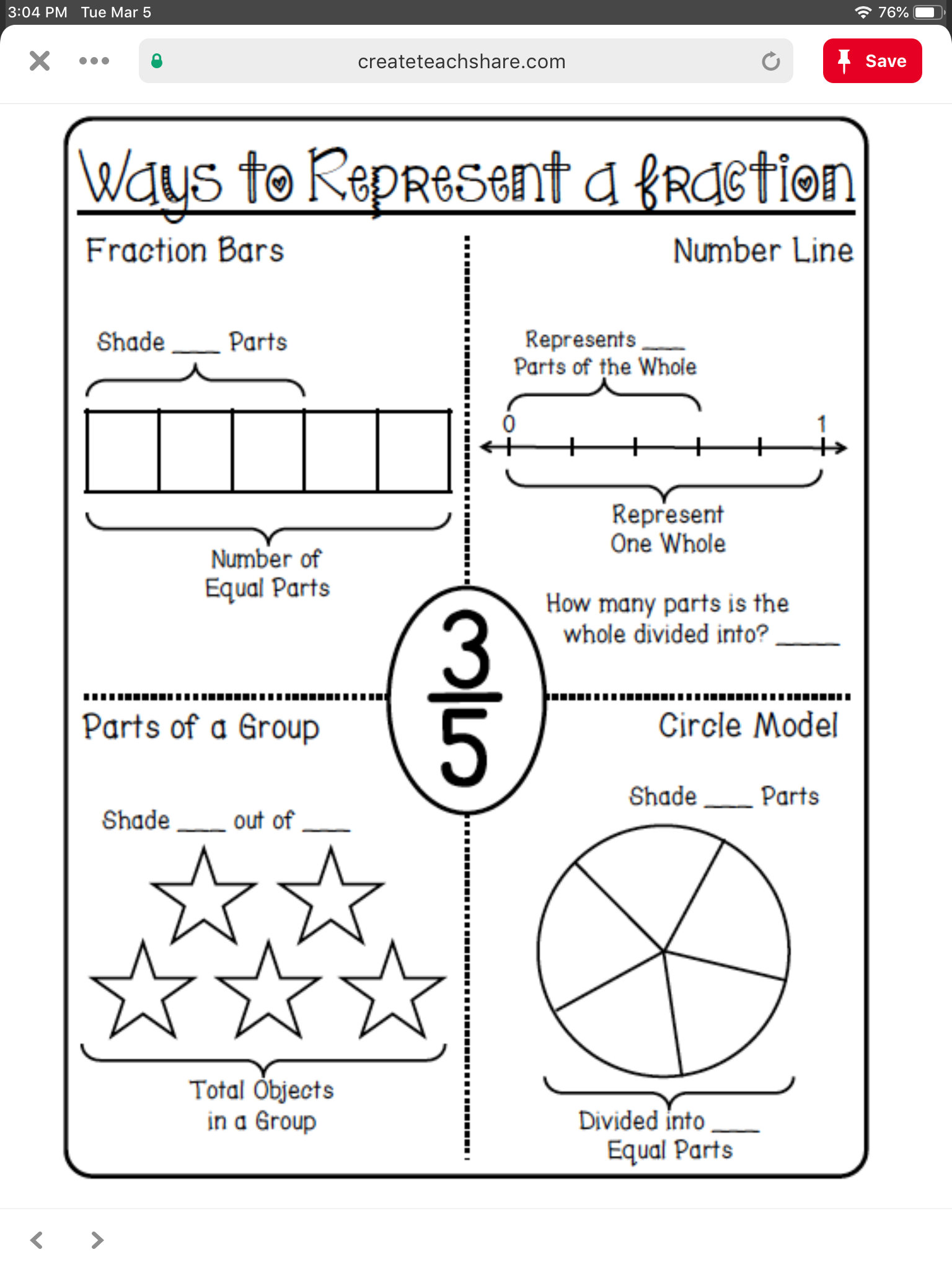 Pin By Saundra Eldridge On Fractions