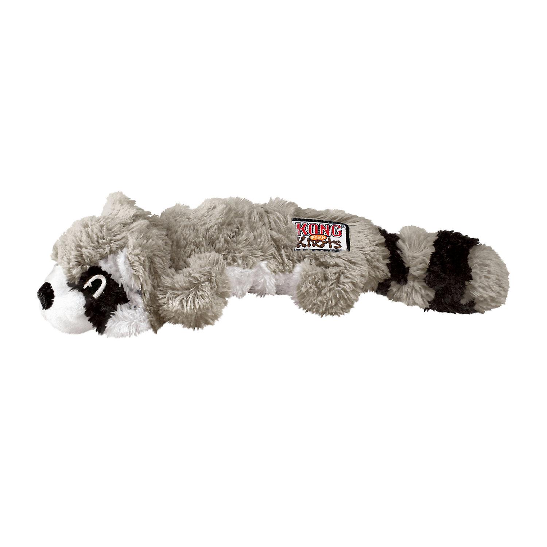 Kong Scrunch Knots Raccoon Dog Toy Medium Dog Toys Best Dog