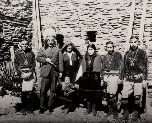 1922- Einstein at the Grand Canyon