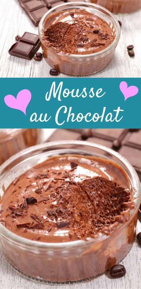 Mousse Au Chocolat Rezept Mit Feiner Kaffeenote Y U M Mousse Au