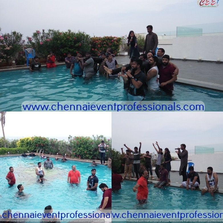 Poolparty Beachhouse Swimmingpool Watergames Corporate Team Outing Kovalam Covelong Chennai Ecr Event Professionals Corporate Events Family Parties