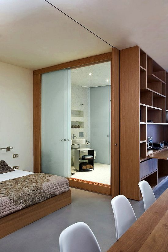 Desain Ruang Privat Untuk Apartemen Studio 03 Interior