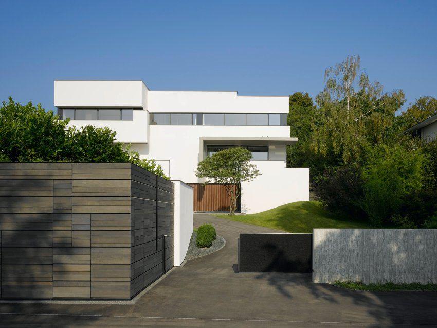 Innenarchitektur Brenner Düsseldorf haus am hang hausideen design minimal und hausbau