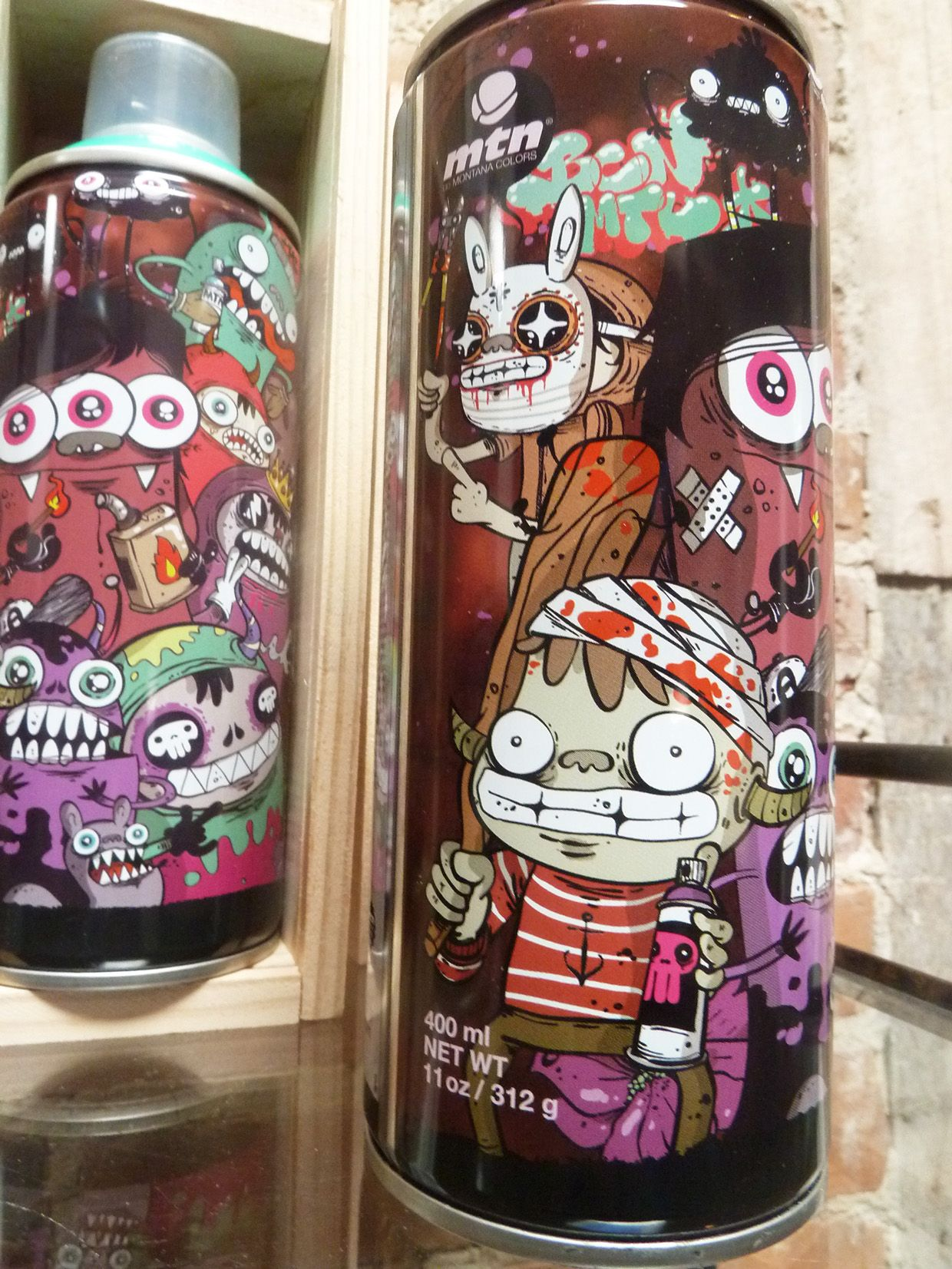 MTN Limited Edition spray cans