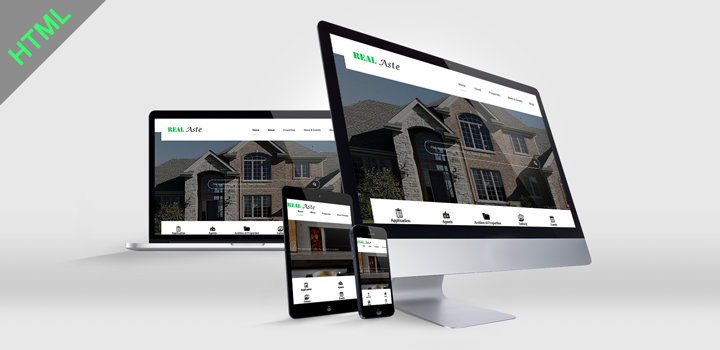Real Aste Real Estate HTML Template Html templates
