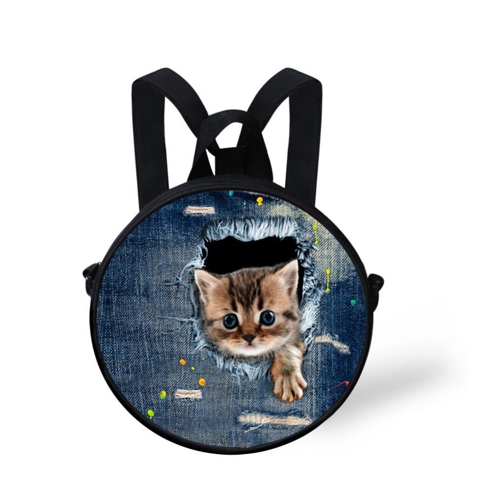 [Visit to Buy] Small Children Girls School Bag Kawaii Zoo ...