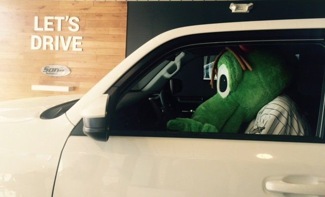 Captivating How Did Homer The Dragon, The Charlotte Knights Fun Loving Mascot, Get  Behind The Wheel Of A From Town And Country Toyota? Checkout Homeru0027s Antics  This ...