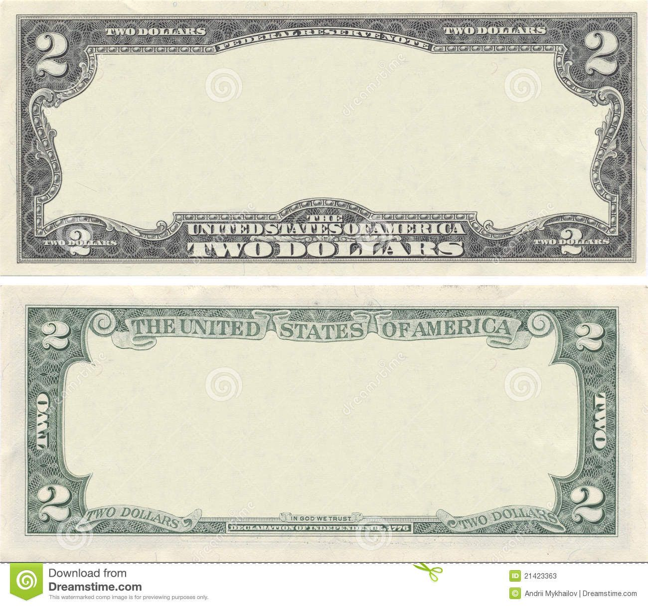 Clear 2 Dollar Banknote Pattern For Design Purposes Sponsored Ad Ad Dollar Purposes Banknote Clear Money Template Dollar Banknote Bank Notes Design your own money template