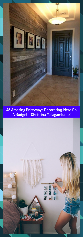 45 Amazing Entryways Decorating Ideas On A Budget  Christina Malagamba  2