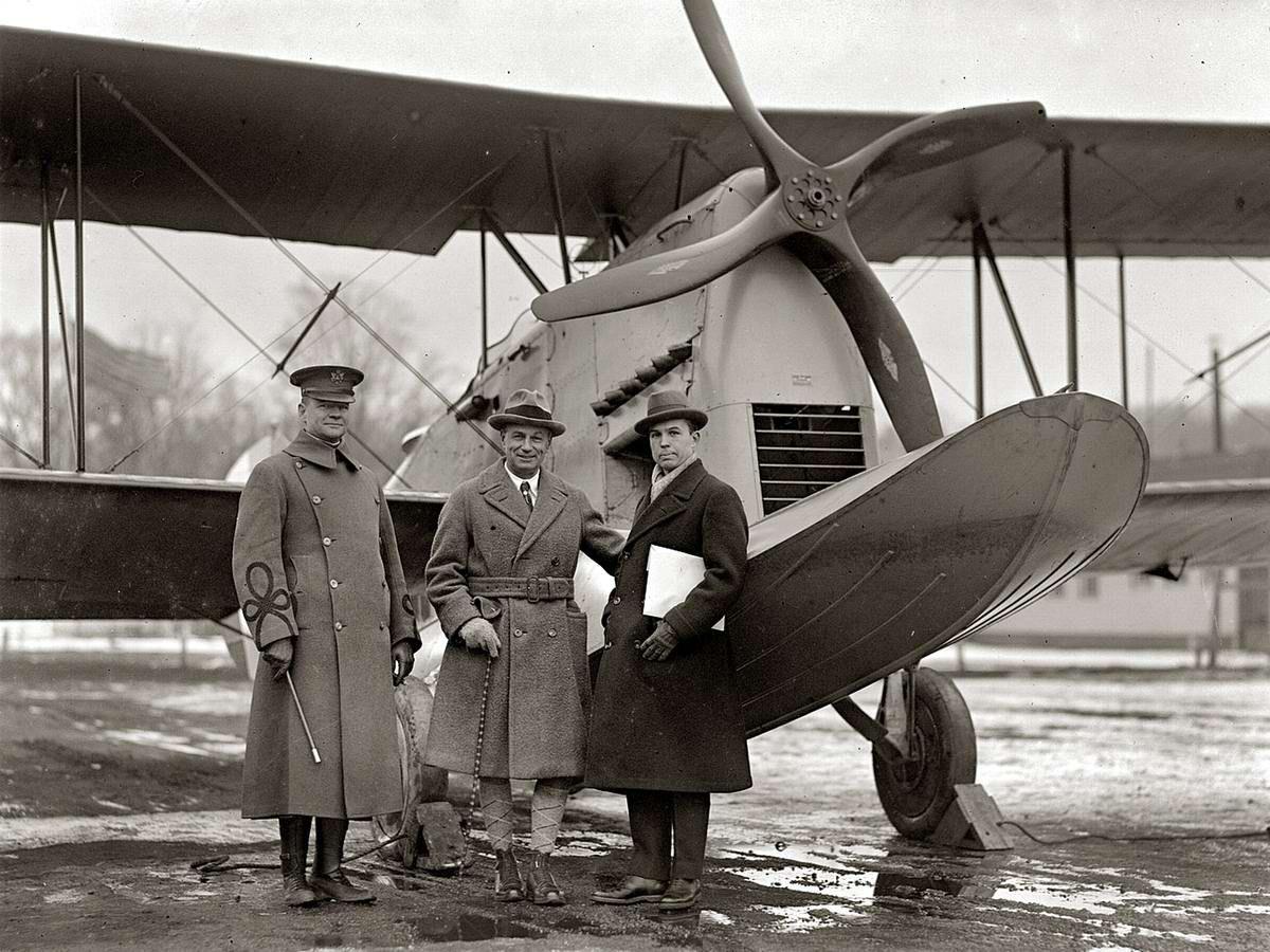 Старые фотографии самолетов