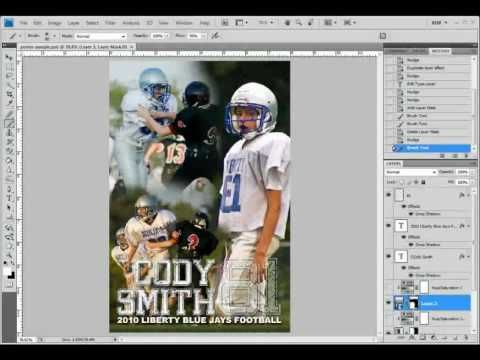 Part 1 Of 3 Create A Customer Poster Collage In Photoshop Youtube Collage Poster Senior Pictures Collage Poster Tutorial