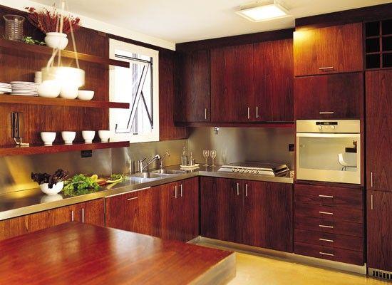 Decoración de Cocinas con Madera de Cedro | decoraciones | Pinterest ...