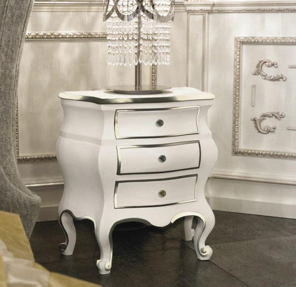 Le chevet baroque, rennaissance d\'un meuble classique - Archzine.fr