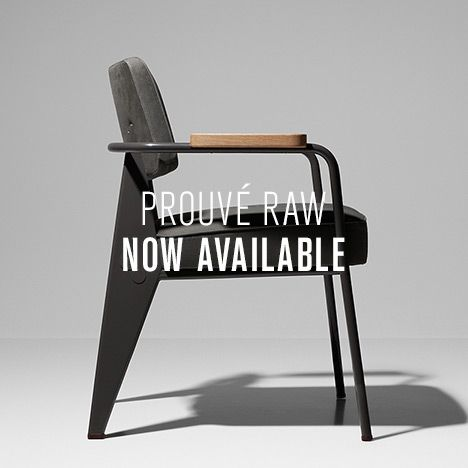 prouvé raw presents a collection of jean prouvé furniture classics