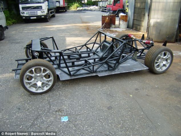 Homemade Car Frame >> View Source Image Eauto Pinterest Super Cars Cars And Kit Cars