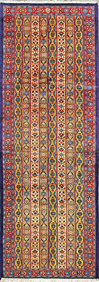 Qum persian rug buy handmade qum persian rug 3 39 7 x 10 for Tejido persa