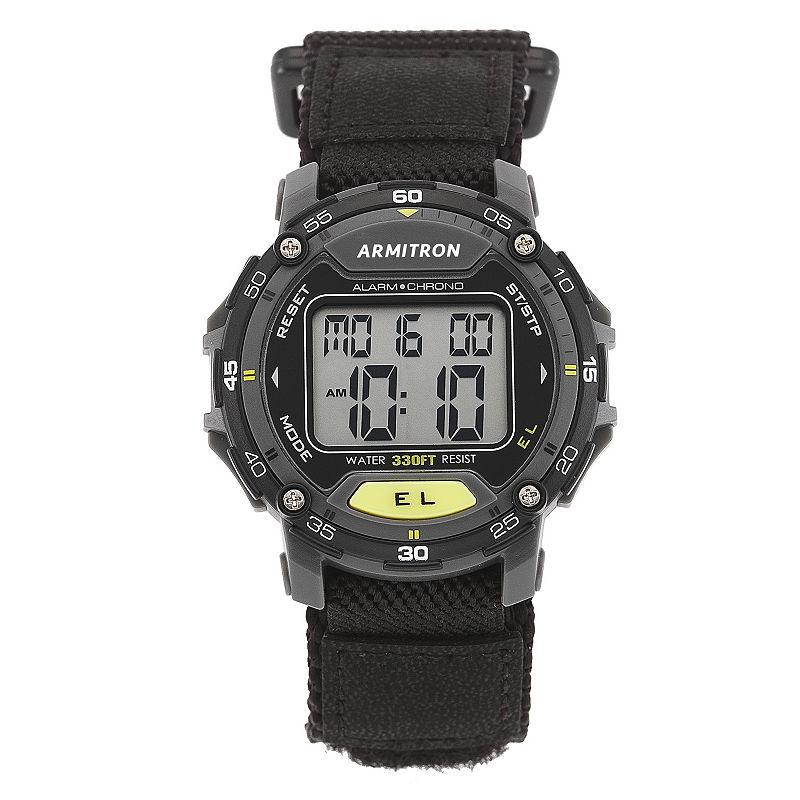 Armitron Unisex Black Strap Watch40/8291blk Armitron