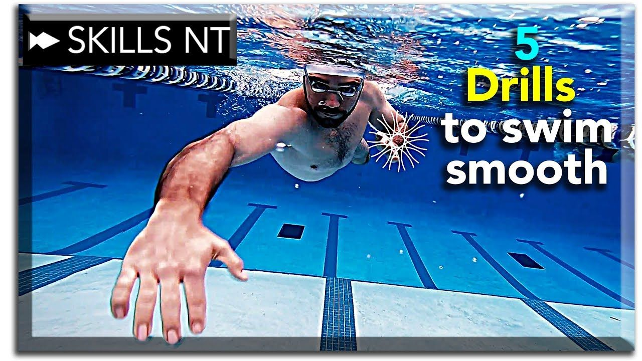 5 freestyle drills to help you swim smooth freestyle