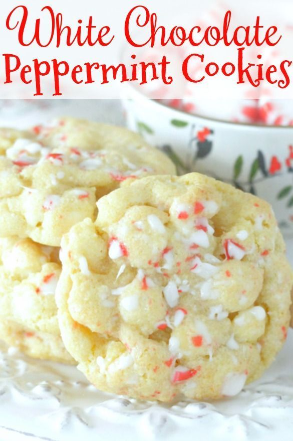Photo of White Chocolate Peppermint Cookies – Foodtastic Mom