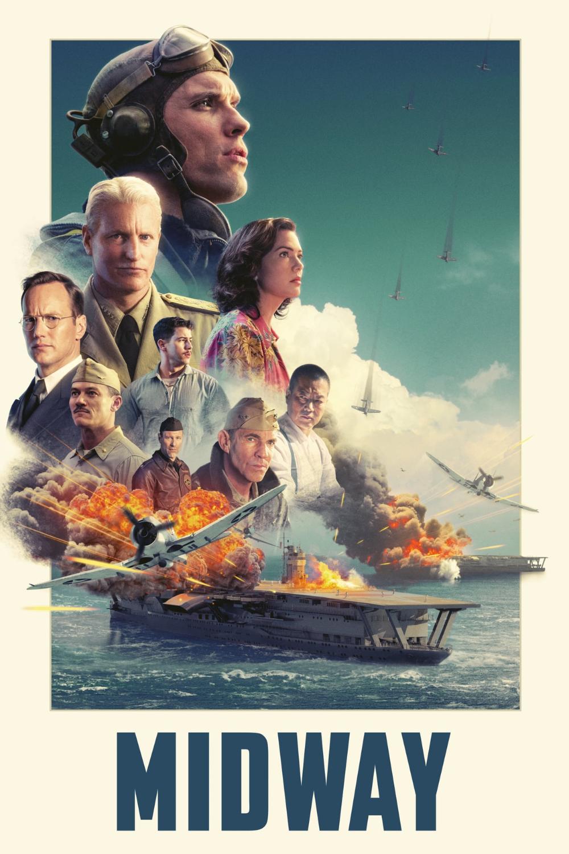 Watch Download Midway 2019 720p Hd Ed Skrein Patrick Wilson Luke Evans The Story Of The Soldiers And Aviator Perang Dunia Ii Film Bagus Angkatan Laut