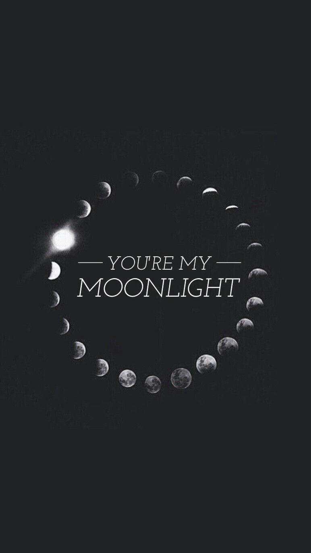 Ariana Grande Moonlight wallpaper / lockscreen