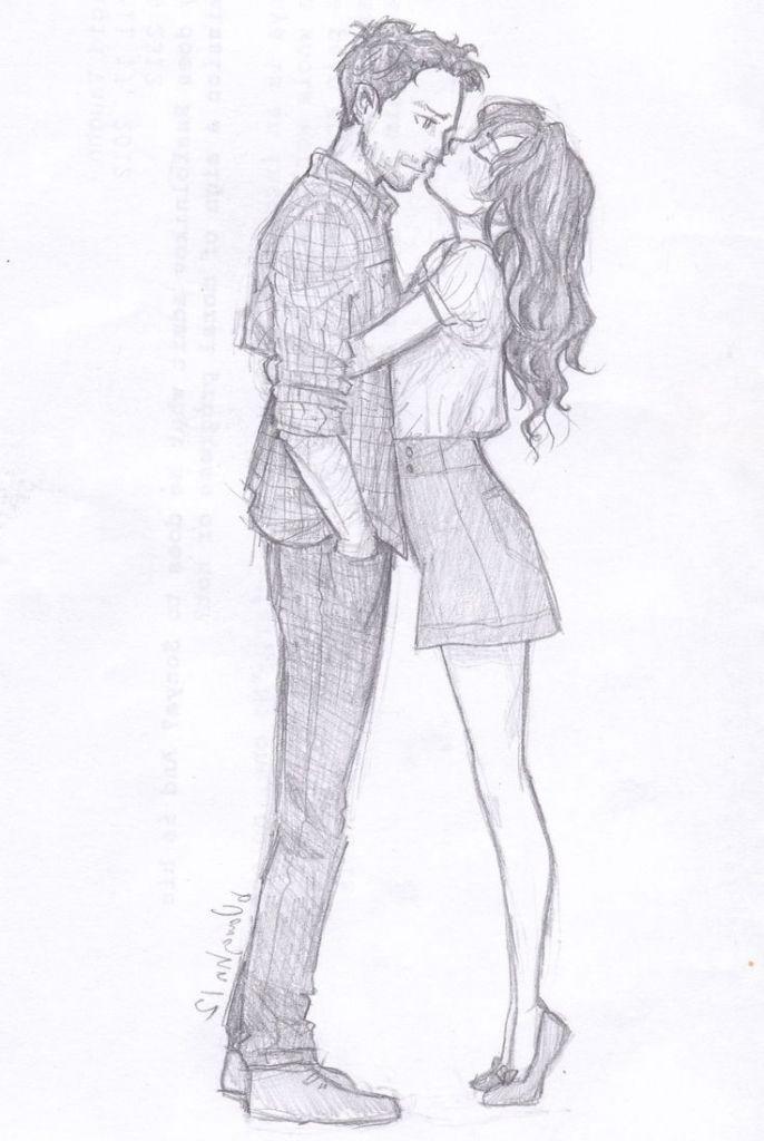 Image Result For Couples Drawing Tumblr Namorados Desenho