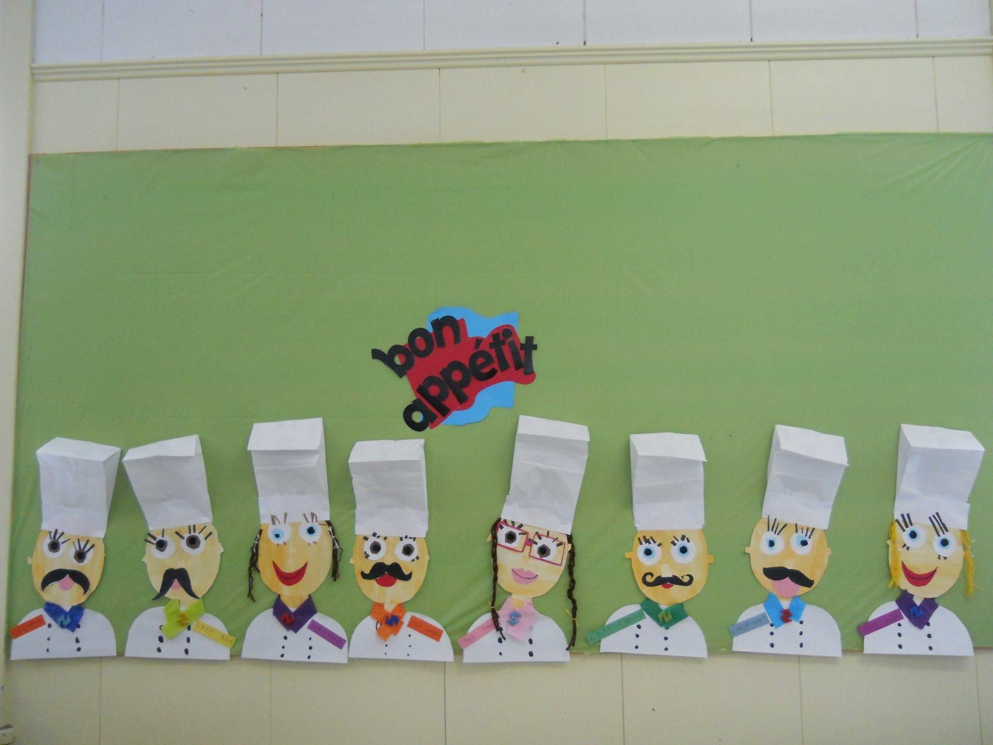 Chef cuisinier les metiers pinterest cuisini re alimentation et matern - Pinterest francais bricolage ...