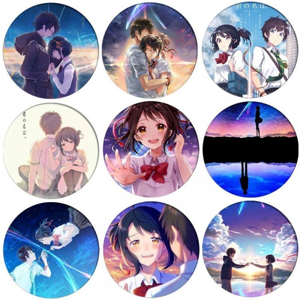 Kimi no Na wa Badges - Anime Badges - Nakama Store