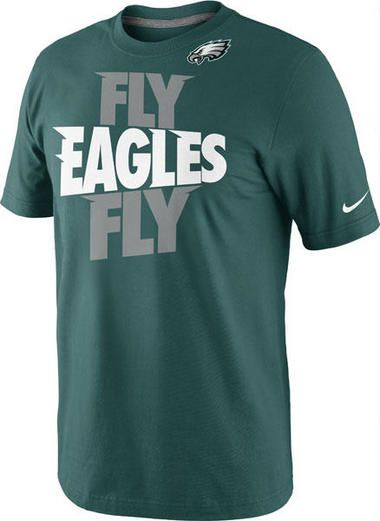 574f16369 official store philadelphia eagles green fly eagles fly t shirt ce40a 094f2