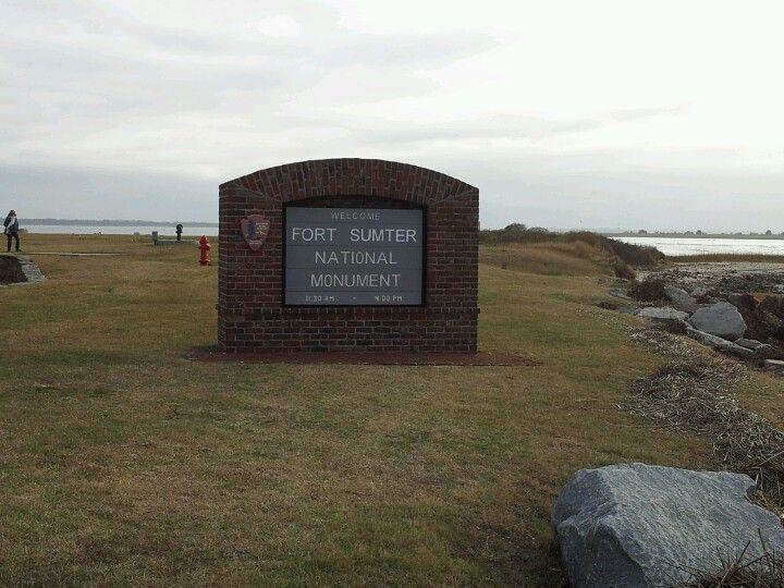 Fort sumter fort sumter sumter national monuments