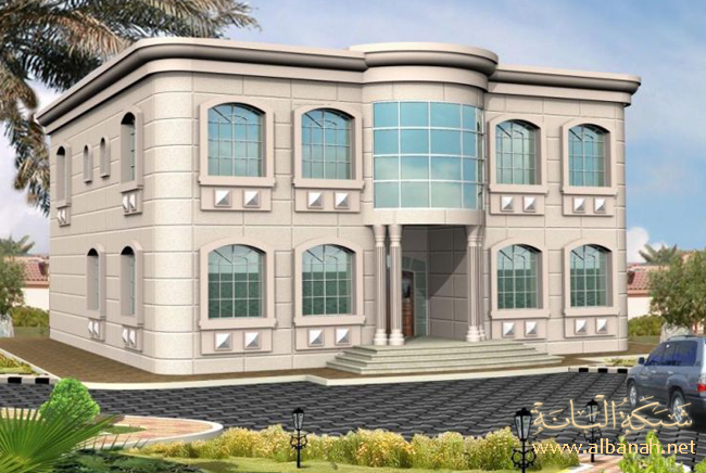 نتيجة بحث الصور عن تصاميم فلل House Styles House Plans House