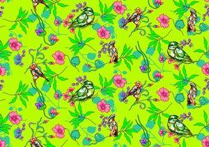 Tecido Pássaros - Cor 02 www.elo7.com.br/modelarcasa  www.modelarcasa.com.br  www.facebook.com/modelarcasa  contato@modelarcasa.com.br