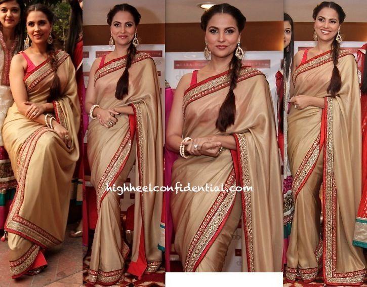 Lara Dutta At AN Event In Delhi To Promote Lara Dutta For Chhabra 555 Collection