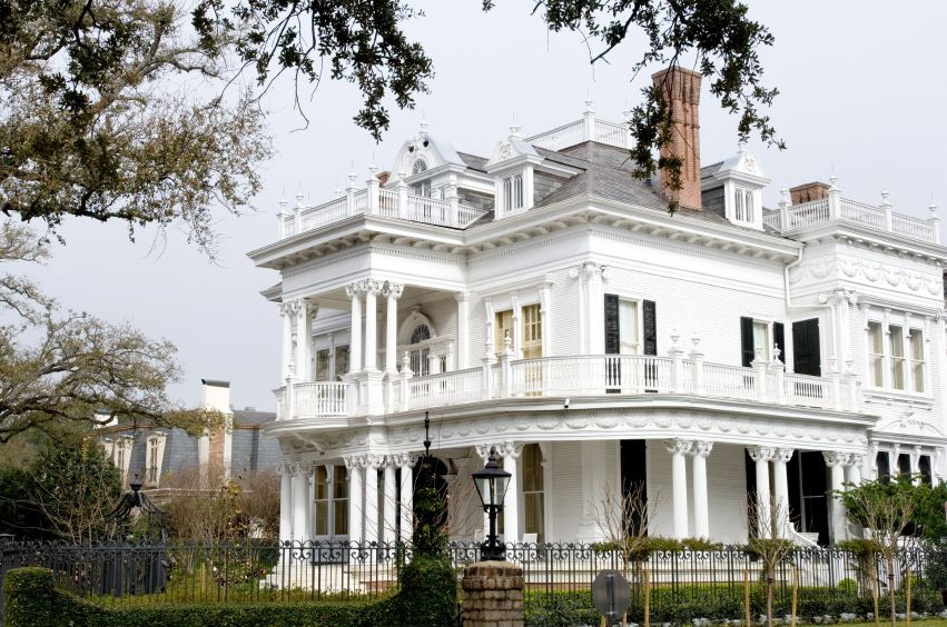 Garden District Mansion in New Orleans   New Orleans Things to Do ...