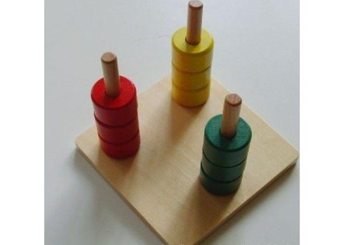 Tribarvno Navpicno Vreteno Montessori Montessori Triangle