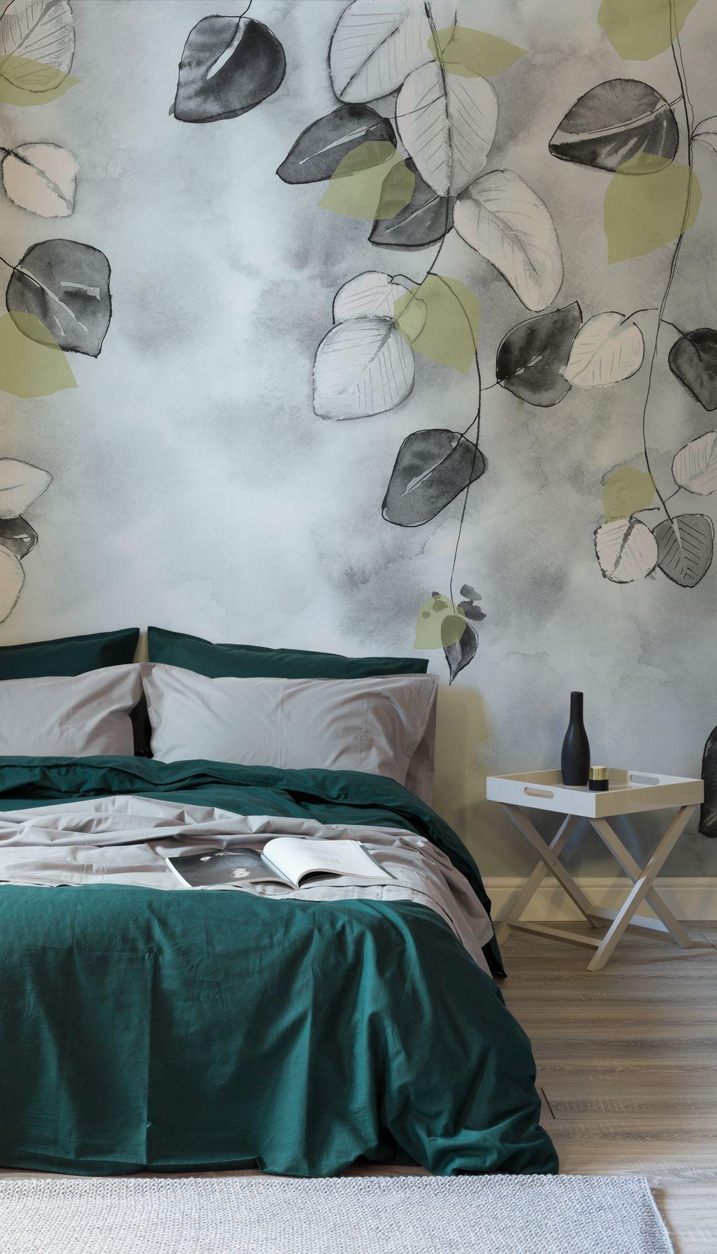 46 Beautiful Nature Wallpaper Design Ideas For Bedroom