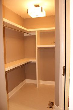 Stellar Homes Donsdale Contemporary L Shaped Closet